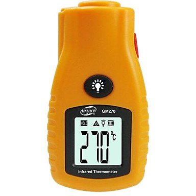 Infrared Thermometer , Black And Yellow