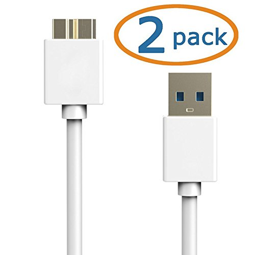 Click to buy USB 3.0 Cable : 2 Pack Acatim USB 3.0 Data & Charging Cable for Samsung Galaxy S5, Galaxy Note 3, and Note Pro - 3 Feet - From only $37.66