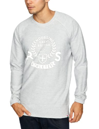 Rampant Sporting Crew-Neck Men's Jumper Grey Marl XX-LargeXX-LargeRampant Sporting Crew-Neck Men's Jumper Grey Marl XX-LargeRampant Sporting Crew-Neck Men's Jumper