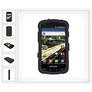 Trident Case Aegis Protective Case for Samsung DROID Charge - 1 Pack - Carrying Case - Retail Packaging - Black
