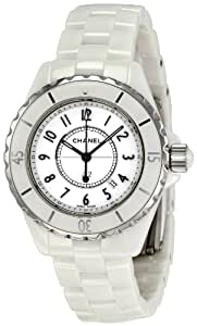 Chanel Women's H0968 J12 White Ceramic Bracelet Watch