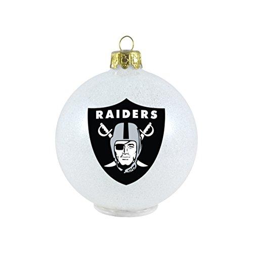 NFL Oakland Raiders LED Small Ornament