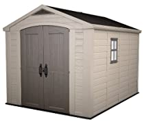 Hot Sale KETER Factor Resin Shed, 8 by 11-Inch