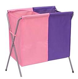 Folding laundry basket of dirty clothes storage basket oxford cloth laundry basket Storage basket large double basket