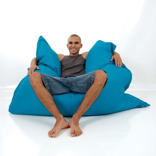 rucomfy Aqua Indoor/Outdoor Squashy Squarbie Bean bags FREE DELIVERY