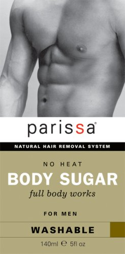Parissa No Heat Body Sugar Hair Removal for Men - Full Body-Made in Canada