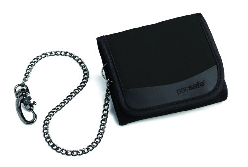 Pacsafe Walletsafe 100, Black, One Size front-14959