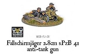Bolt Action 28mm Fallschirmjager 2.8 SPZB 41 AT Gun
