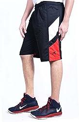 Repugn's Velouté z3 Sports Shorts (Black, Medium)