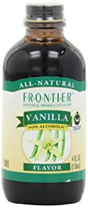 Frontier Vanilla Flavor (no Alcohol) Fair Trade Certified, 4-Ounce Bottles (Pack of 2)