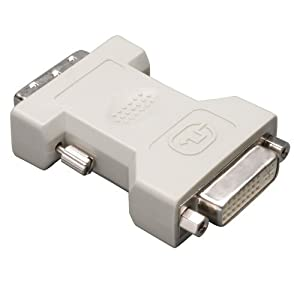 Tripp Lite DVI-I to DVI-D Dual Link Video Cable Adapter (F/M) (P118-000)