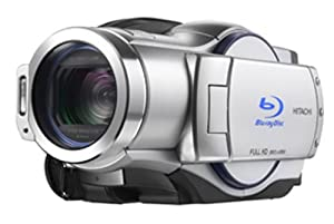 Hitachi DZ-BD70A BluRay 5.3MP DVD High Definition Camcorder 10x Optical Zoom
