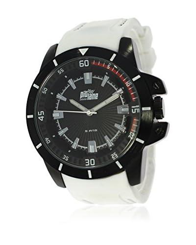 Pit Lane Reloj con movimiento Miyota Pl-2002-4 Blanco 45 mm