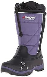 Baffin Cheree Insulated Snow Boot (Toddler/Little Kid/Big Kid),Black/Purple,9 M US Toddler