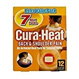 Cura-Heat Back & Shoulder Pain - 7 Heat Packs