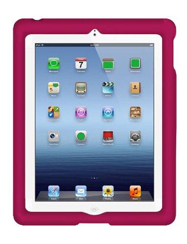 Bobj Advanced Heavy Duty Case For Ipad 4 , Ipad 3 , Ipad 2 (Not For Ipad Air) - Bobjgear Protective Cover - Rockin' Raspberry front-304314