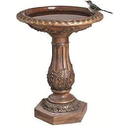 Antique Bronze Birdbath