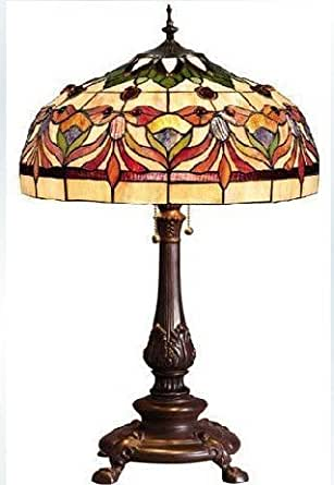 16 Inch Continental Goldfish Edition Tiffany Table Lamp Living Room Lamp Bedroom Bedside Lamp