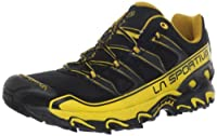 La Sportiva Raptor Trail Running Shoe - Black/Yellow - 41 from La Sportiva
