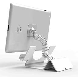 Compulocks Security Stand for iPad Mini, White (CL12UTHWBIPM)