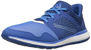 adidas Performance Men's Energy Bounce 2.0 Running Shoe,Equipment Blue/White/Super Blue,10.5 M US