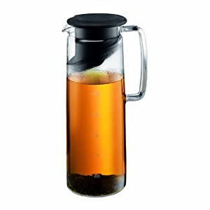 Bodum Biasca 40-Ounce Glass Iced Tea Maker