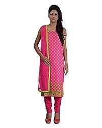 Mumtaz Sons Women's Cotton Unstitched Dress Material (MS111423B,Rani)