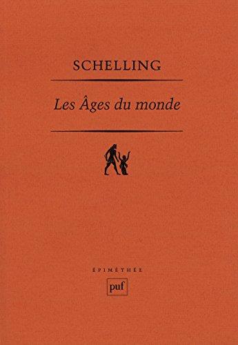 Les âges du monde: Fragments dans les premières versions de 1811 et 1813