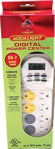 Coralife 05152 Digital Power Center (Aquarium Timer Digital compare prices)