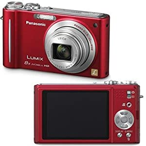 Panasonic Lumix DMC-ZR3 14.1 MP Digital Camera with 8x Optical Image Stabilized Zoom and 2.7-Inch LCD (Red)