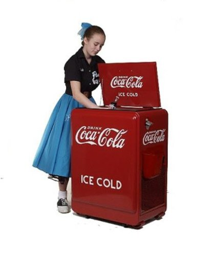 Classic Coca-Cola Refrigerated Machine 0