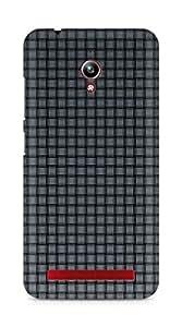 Amez designer printed 3d premium high quality back case cover for Asus Zenfone Go ZC500TG (Gray Mesh)