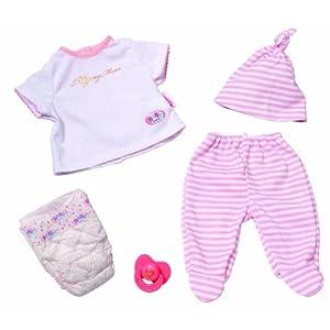 zapf creation 808290 baby born girl erstausstattung set. Black Bedroom Furniture Sets. Home Design Ideas