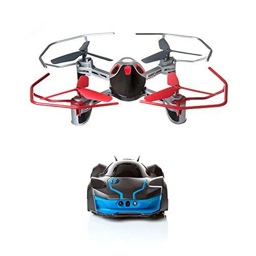 R.E.V. Air, ferngesteuertes Auto und Quadrokopter mit künstlicher Intelligenz