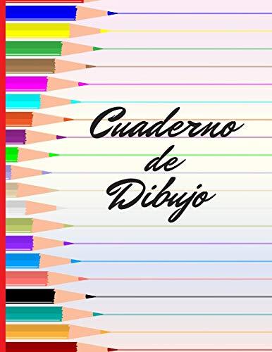 CUADERNO DE DIBUJO BONITO CUADERNO PARA DIBUJAR. 100 PAGINAS EN BLANCO, GRAN FORMATO. REGALO CREATIVO Y ORIGINAL  [Sketchbooks, Inspired] (Tapa Blanda)