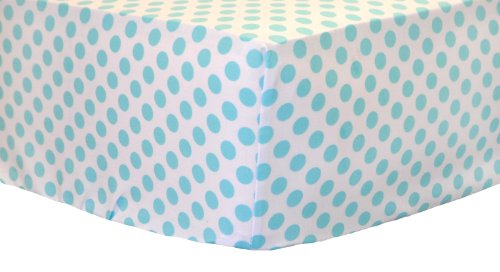 New Arrivals Crib Sheet, Indigo Summer