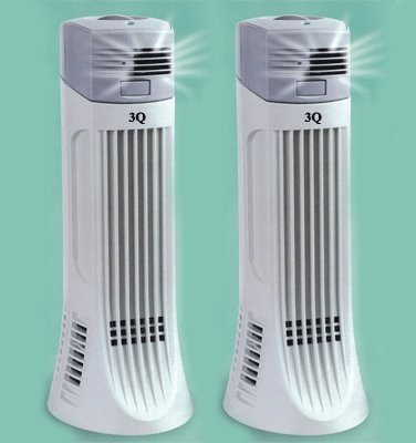Cheap 3Q AP01 Twin Pack Electrostrostatic Ionic Air Purifier, Cleaner (AP-01)