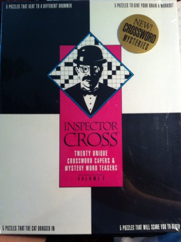 Inspector Cross 20 Unique Crossword Capers and Word Teasers Puzzles Vol 2 - 1