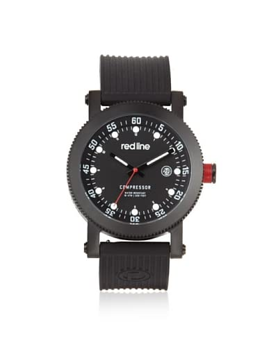 red line Men's 18000-01-BBSSET Compressor Interchangeable Silicone Watch