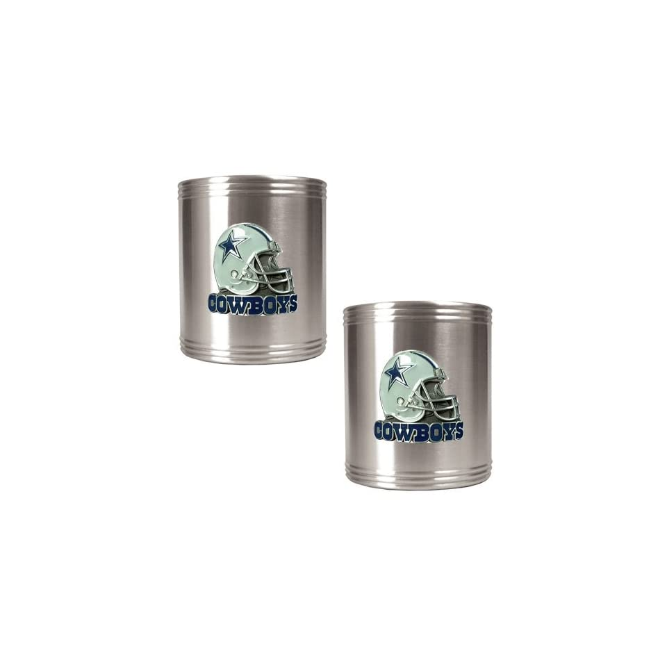 Great American Products Dallas Cowboys NFL 2pc Stainless