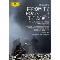 DVD P.ブーレーズ指揮 ヤナーチェク歌劇『死者の家から』の商品写真
