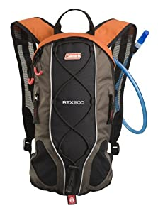 Coleman RTX 200 2L Hydration Pack (Dark Gray/Orange)
