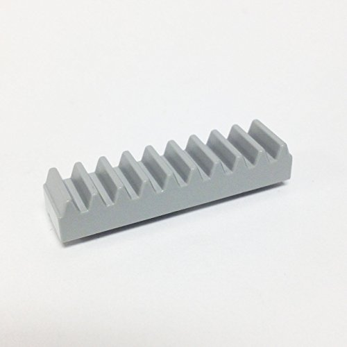 Lego Parts: Technic, Gear Rack 1 x 4 (Old Light Gray) - 1