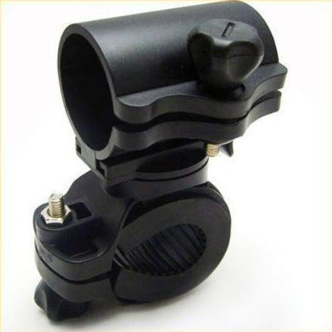 Bike Flashlight Light Torch Mount holder Bracket 360¡ã Rotation