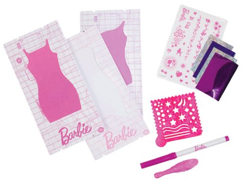 Barbie Design and Dress Studio Foiler Refill Kit - 1