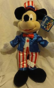 Fourth of July Patriotic Mickey Mouse Plush