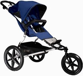 Mountain Buggy Terrain NAVY Single Child Jogging Stroller by Mountain Buggy