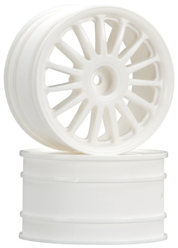 HPI Racing 108075 WR8 Tarmac Wheel (Set of 2), White - 1