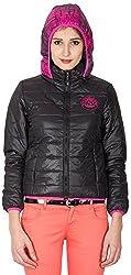 Priknit Women's Long Sleeve Jacket (IH-LJ1-XXL BLACK, Black, XXL)