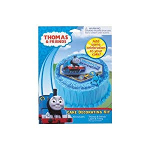 Thomas Tank Engine Cake Decoration Kit : Amazon.com: Thomas the Tank Engine Cake Dec Kit: Toys & Games